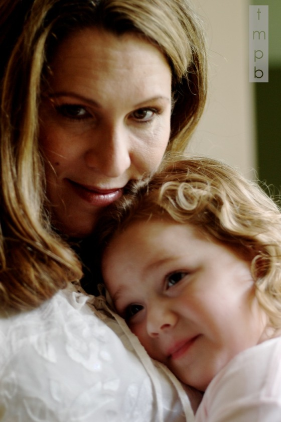 The mother and daughter bond is a beautiful thing.